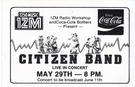 Citizen Band - Person | AudioCulture