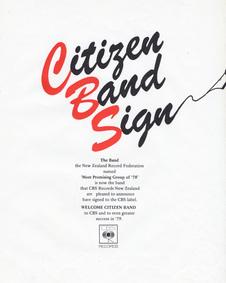 Citizen Band - CB Bootleg