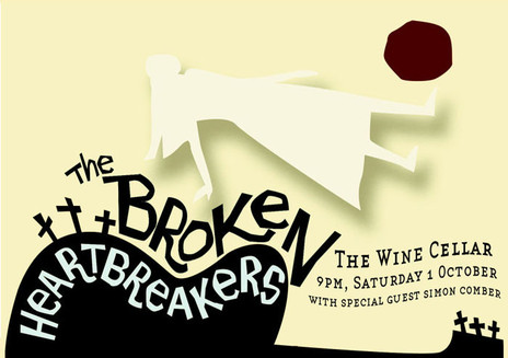 Hero thumb the broken heartbreakers poster from 2006   created by peter rees