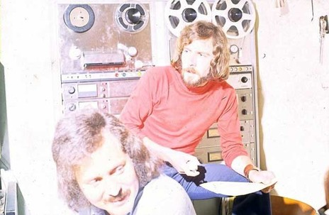 Hero thumb wrightson brothers at emi recording studios wellington. early 1970s