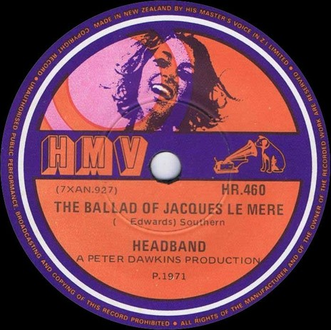 Hero thumb headband the ballad of jacques le mere hmv