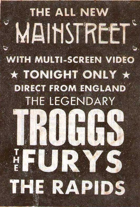 Hero thumb the furys  the troggs mainstreet 83