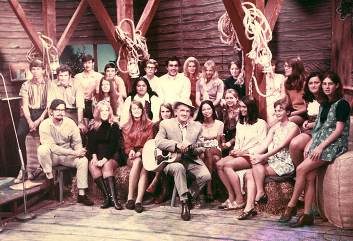 Admin thumb tex morton with his country touch posse nzbc tv wellington 1969