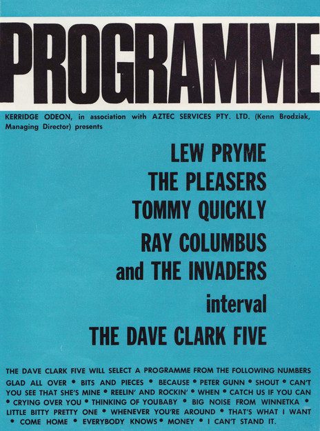 Hero thumb pleasers dave clark 5 programme 501kb lo