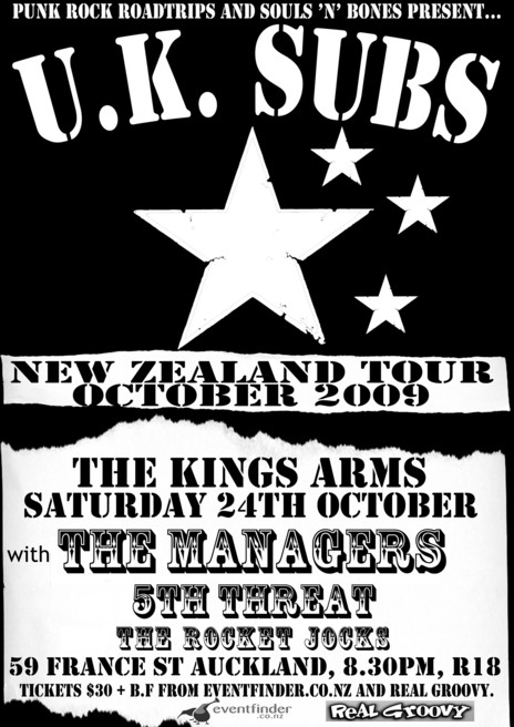 Hero thumb poster4 2009 supporting uk subs the managers and 5th threat