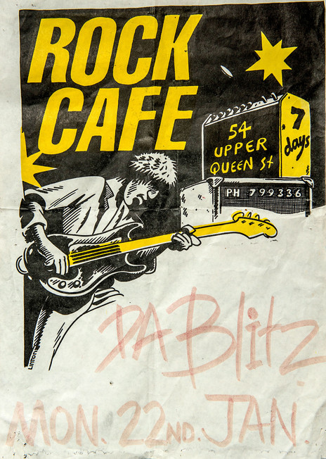 Hero thumb da blitz poster headquaters rock cafe 1979
