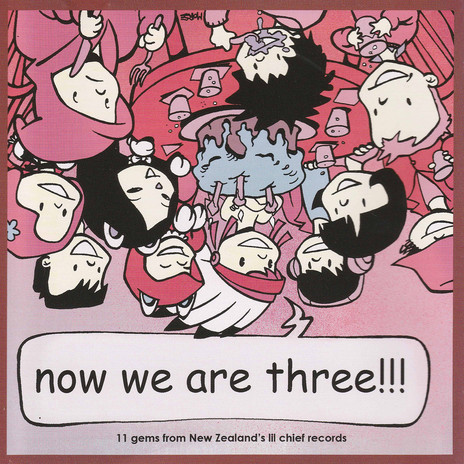 Admin thumb now we are three compilation cover   illustration by simon morse