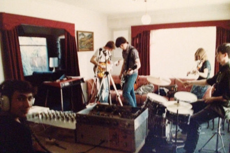 Hero thumb afd recording with dz 1985.l r damian zelas  blair parkes  campbell taylor  esther mcnaughton  brett lupton