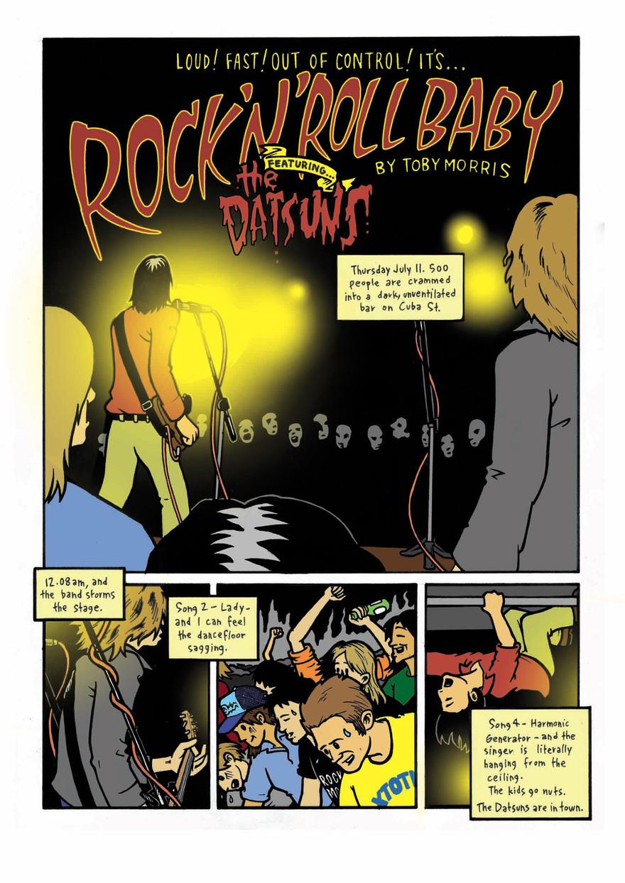 Kiwi Rock Strips: an introduction - Scene | AudioCulture