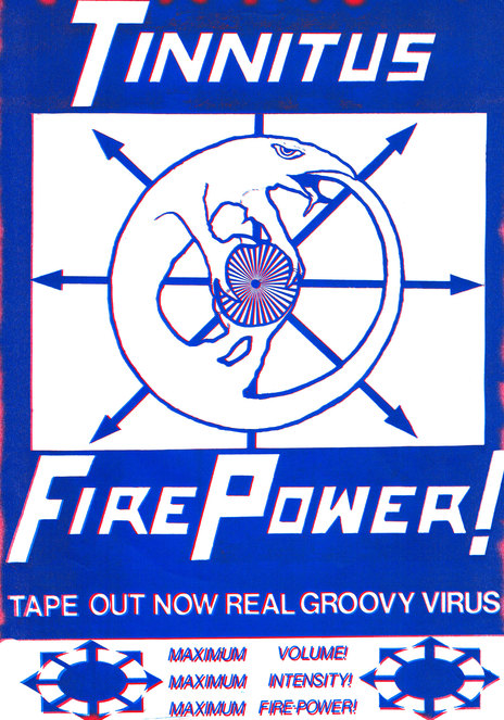 Hero thumb fire power poster blue