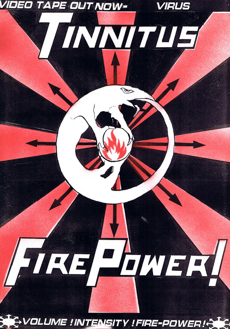 Hero thumb fire power video tape poster