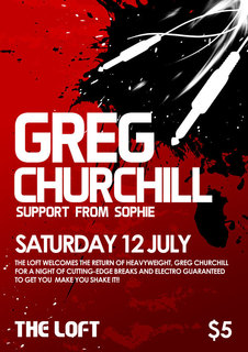 Greg Churchill - BPM Mix 01: Greg Churchill