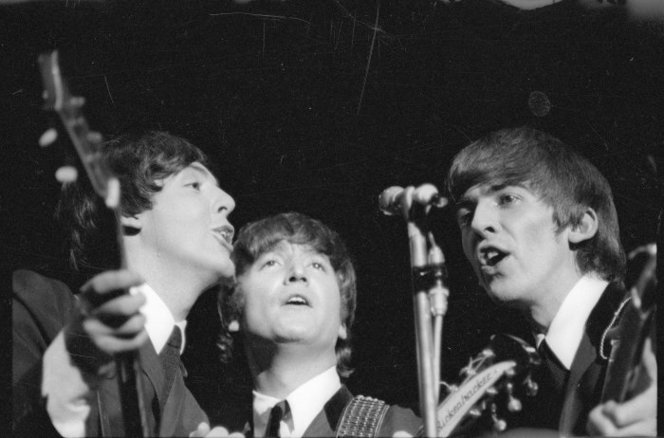 Beatles Invade New Zealand 1964 Scene Audioculture