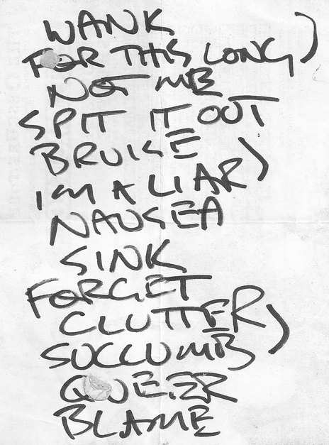 Hero thumb setlist from the obscure tour with semi lemon kola