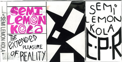 Hero thumb the extended pleasure of reality cassette cover