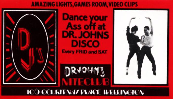 Wellington nightclubs in the 1980s - Scene | AudioCulture