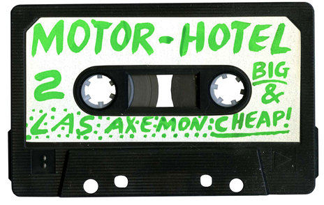 Hero thumb axemen big cheap motel tape label 2 1600