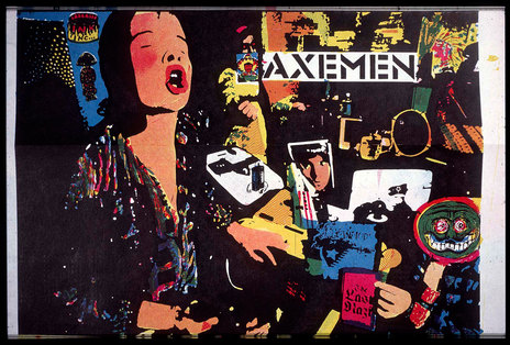 Hero thumb axemen from screen print poster sh50 1600